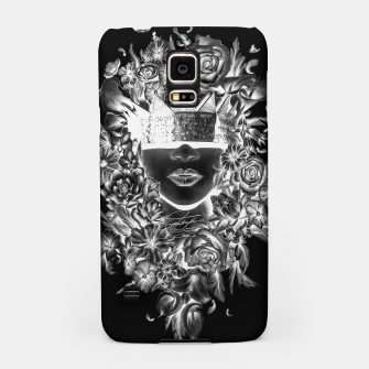 Thumbnail image of Flower Crown Negative Samsung Case, Live Heroes