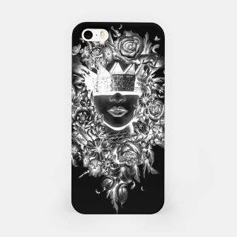 Thumbnail image of Flower Crown Negative iPhone Case, Live Heroes