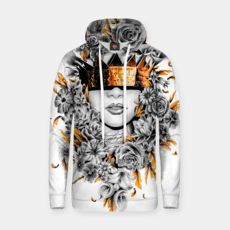 Thumbnail image of Golden Flower Crown  Cotton hoodie, Live Heroes