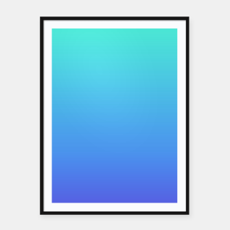 Thumbnail image of Hatsune Miku Gradient 02 Framed poster, Live Heroes