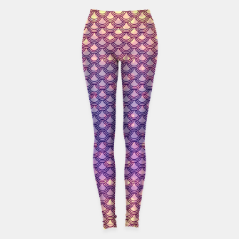Thumbnail image of Chinese Scales Fantastic Creature Leggings, Live Heroes