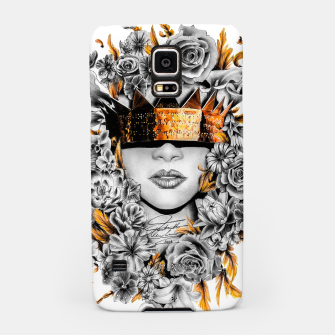 Thumbnail image of Golden Flower Crown  Samsung Case, Live Heroes