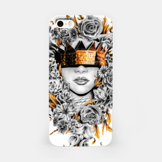Thumbnail image of Golden Flower Crown  iPhone Case, Live Heroes