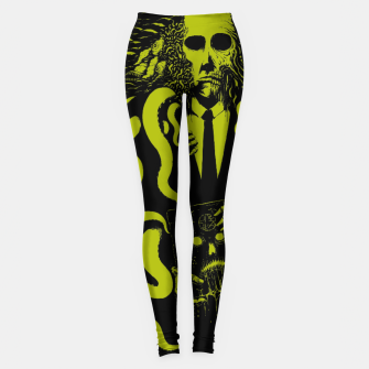 Thumbnail image of The Horror Within Leggings, Live Heroes