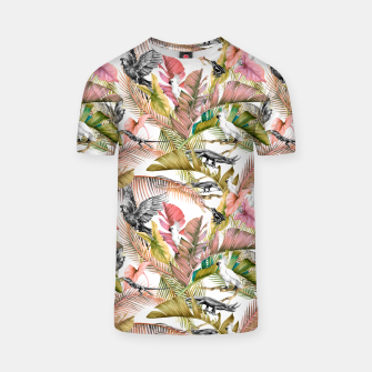 Paradise in the pink jungle 2 Camiseta Bild der Miniatur