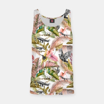 Paradise in the pink jungle 2 Camiseta de tirantes Bild der Miniatur