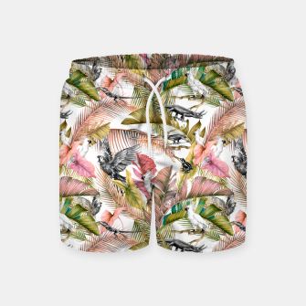 Miniatur Paradise in the pink jungle 2 Pantalones de baño, Live Heroes