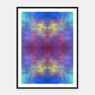 Thumbnail image of Universe of Color Framed poster, Live Heroes