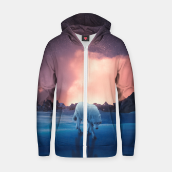 Thumbnail image of Territory Cotton zip up hoodie, Live Heroes