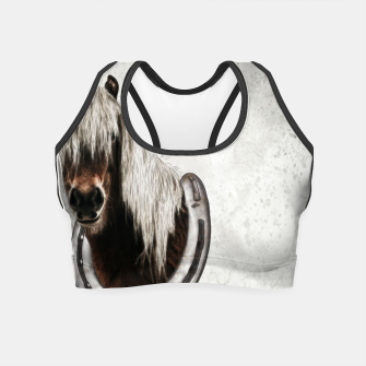 Thumbnail image of Pony Portrait - Graphic Style Crop Top, Live Heroes