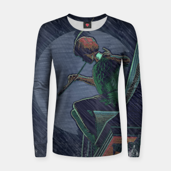 Thumbnail image of Lost Boys Woman cotton sweater, Live Heroes