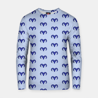 Miniatur Astrological sign aries constellation pattern Cotton sweater, Live Heroes