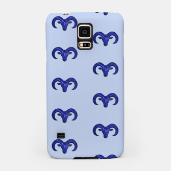 Miniatur Astrological sign aries constellation pattern Samsung Case, Live Heroes