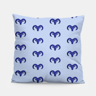 Miniatur Astrological sign aries constellation pattern Pillow, Live Heroes