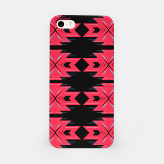 Thumbnail image of iPhone case with Red geometry, Live Heroes