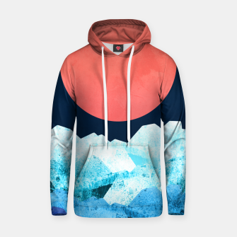 Thumbnail image of A cold spring's sea Cotton hoodie, Live Heroes