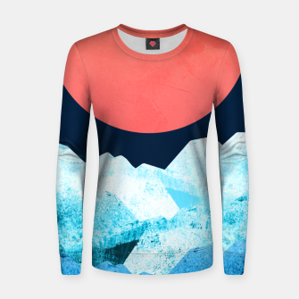Miniaturka A cold spring's sea Woman cotton sweater, Live Heroes