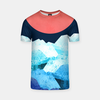 Thumbnail image of A cold spring's sea T-shirt, Live Heroes