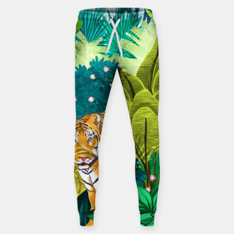 Miniatur Jungle Tiger Cotton sweatpants, Live Heroes