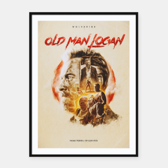 Thumbnail image of Logan fanart by The Sonnyfive Framed poster, Live Heroes