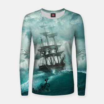 Thumbnail image of Shipmaster Woman cotton sweater, Live Heroes