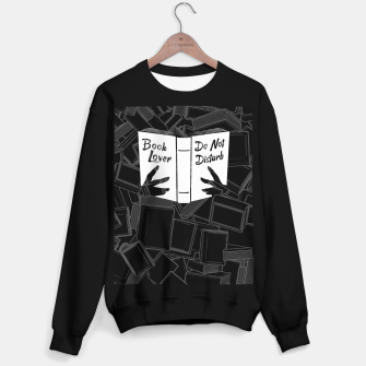 Book Lover, Do Not Disturb Sweater regular thumbnail image