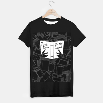 Book Lover, Do Not Disturb T-shirt regular thumbnail image