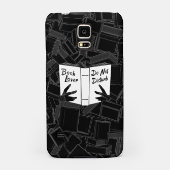 Book Lover, Do Not Disturb Samsung Case thumbnail image