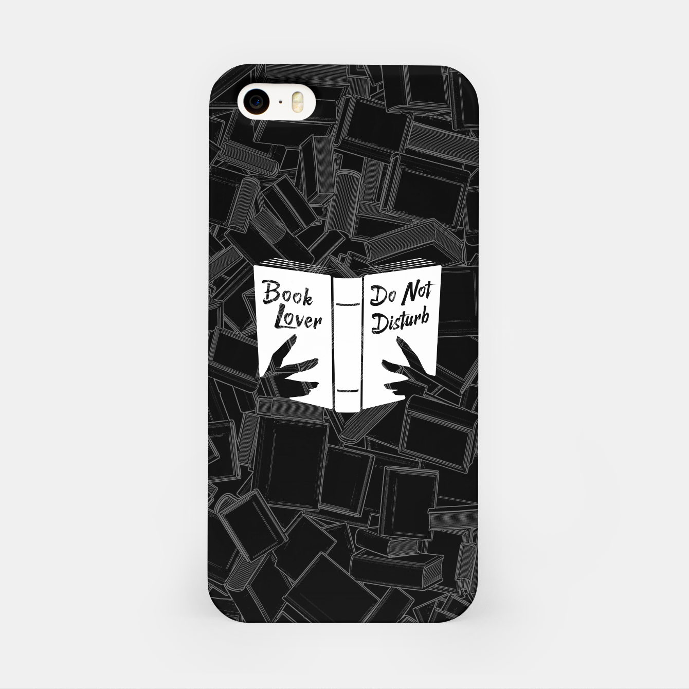 Foto Book Lover, Do Not Disturb iPhone Case - Live Heroes