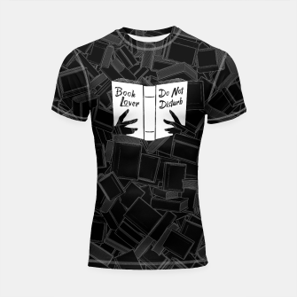 Thumbnail image of Book Lover, Do Not Disturb Shortsleeve rashguard, Live Heroes