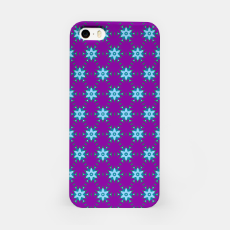 Thumbnail image of Geometrical Star Pattern on Purple iPhone Case, Live Heroes