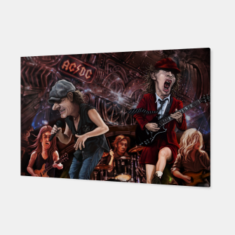 Thumbnail image of Rock n Roll Train Canvas, Live Heroes