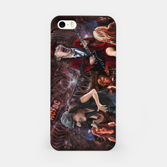 Thumbnail image of Rock n Roll Train iPhone Case, Live Heroes
