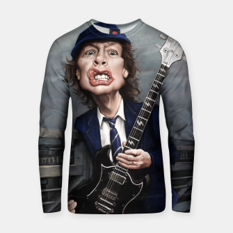 Thumbnail image of Angus Young Cotton sweater, Live Heroes