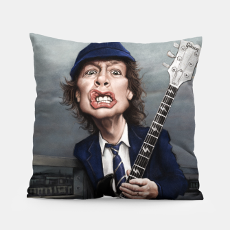 Thumbnail image of Angus Young Pillow, Live Heroes