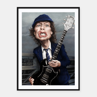 Angus Young Framed poster thumbnail image