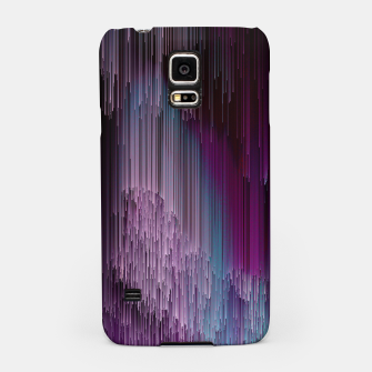 Thumbnail image of Darkness Glitches Out - Abstract Pixel Art Samsung Case, Live Heroes