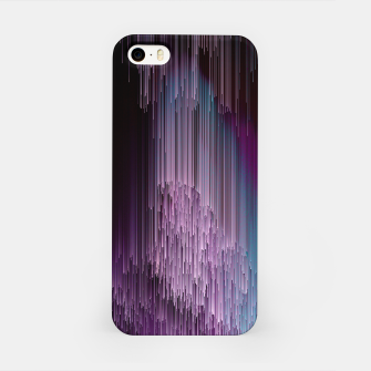 Thumbnail image of Darkness Glitches Out - Abstract Pixel Art iPhone Case, Live Heroes
