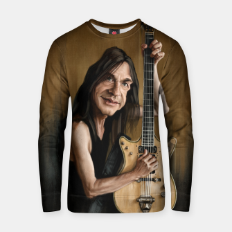 Thumbnail image of Malcolm Young I Cotton sweater, Live Heroes