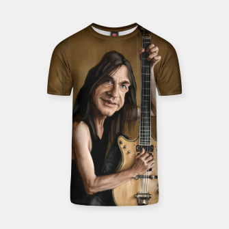 Thumbnail image of Malcolm Young I T-shirt, Live Heroes