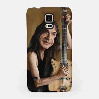 Thumbnail image of Malcolm Young I Samsung Case, Live Heroes