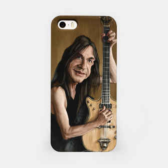 Thumbnail image of Malcolm Young I iPhone Case, Live Heroes