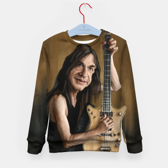 Malcolm Young I Kid's sweater thumbnail image