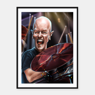Thumbnail image of Chris Slade Framed poster, Live Heroes