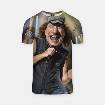 Thumbnail image of Brian Johnson T-shirt, Live Heroes
