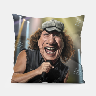 Thumbnail image of Brian Johnson Pillow, Live Heroes