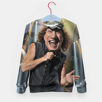 Thumbnail image of Brian Johnson Kid's sweater, Live Heroes