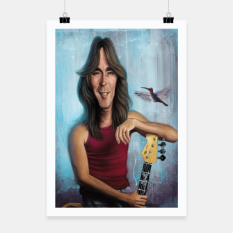 Thumbnail image of Cliff Williams Poster, Live Heroes