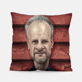 Thumbnail image of Mark Evans Pillow, Live Heroes