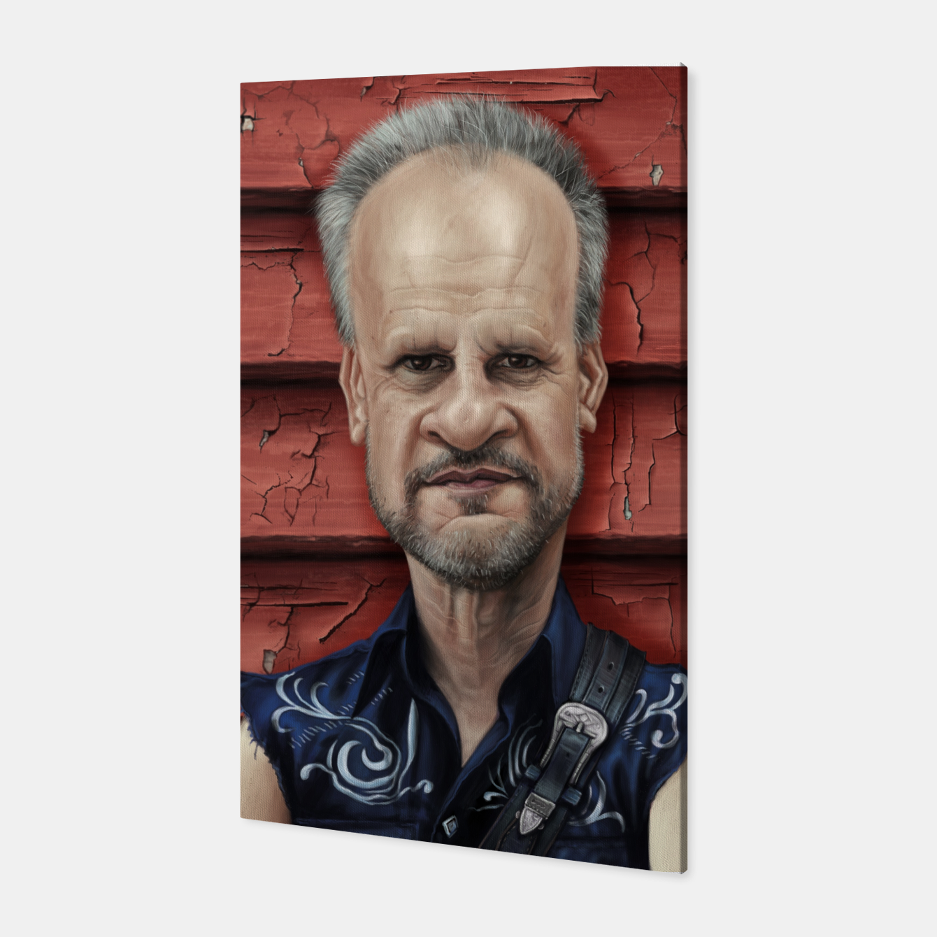 Image of Mark Evans Canvas - Live Heroes